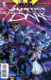 Cover Thumbnail for Justice League Dark (DC, 2011 series) #23