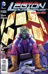 Cover Thumbnail for Legion of Super-Heroes (DC, 2011 series) #23 [Direct Sales]