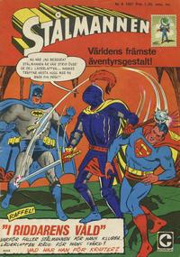 Cover Thumbnail for Stålmannen (Centerförlaget, 1949 series) #6/1967