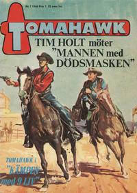 Cover Thumbnail for Tomahawk (Centerförlaget, 1951 series) #7/1966