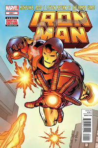 Cover Thumbnail for Iron Man (Marvel, 2013 series) #258.1