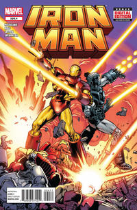 Cover Thumbnail for Iron Man (Marvel, 2013 series) #258.4
