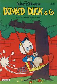 Cover Thumbnail for Donald Duck & Co (Hjemmet / Egmont, 1948 series) #31/1978