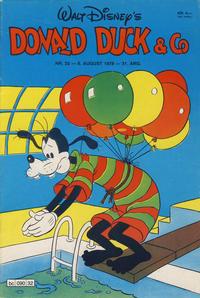 Cover Thumbnail for Donald Duck & Co (Hjemmet / Egmont, 1948 series) #32/1978