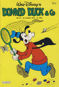 Cover Thumbnail for Donald Duck & Co (Hjemmet / Egmont, 1948 series) #35/1978