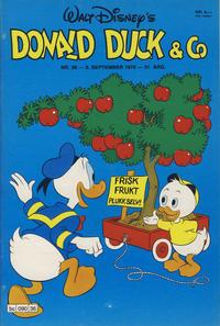 Cover Thumbnail for Donald Duck & Co (Hjemmet / Egmont, 1948 series) #36/1978
