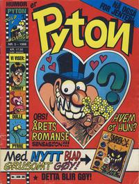 Cover Thumbnail for Pyton (Bladkompaniet / Schibsted, 1988 series) #5/1988