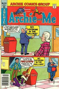 Cover Thumbnail for Archie and Me (Archie, 1964 series) #124