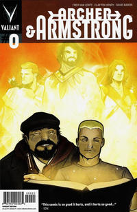 Cover Thumbnail for Archer and Armstrong (Valiant Entertainment, 2012 series) #0 [Cover B - Pullbox Variant - Lee Garbett]