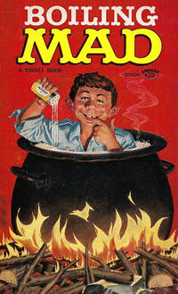 Cover Thumbnail for Boiling Mad (New American Library, 1966 series) #D3006