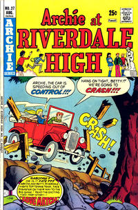 Cover Thumbnail for Archie at Riverdale High (Archie, 1972 series) #27