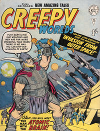 Cover Thumbnail for Creepy Worlds (Alan Class, 1962 series) #23