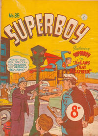 Cover Thumbnail for Superboy (K. G. Murray, 1949 series) #39 [Price difference]