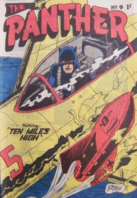 Cover Thumbnail for Paul Wheelahan's The Panther (Young's Merchandising Company, 1957 series) #9