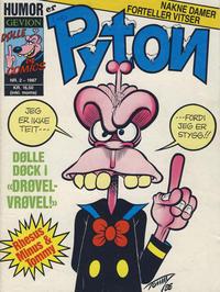 Cover Thumbnail for Pyton (Gevion, 1986 series) #2/1987