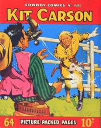 Cover Thumbnail for Cowboy Comics (Amalgamated Press, 1950 series) #181