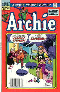 Cover Thumbnail for Archie (Archie, 1959 series) #315