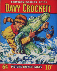 Cover Thumbnail for Cowboy Comics (Amalgamated Press, 1950 series) #183