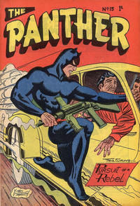 Cover Thumbnail for Paul Wheelahan's The Panther (Young's Merchandising Company, 1957 series) #15