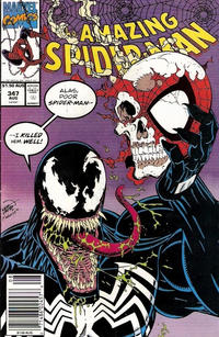 Cover for The Amazing Spider-Man (Marvel, 1963 series) #347 [Direct]
