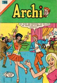 Cover Thumbnail for Archi Serie Colibrí (Editorial Novaro, 1975 ? series) #5