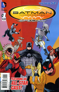 Cover Thumbnail for Batman Incorporated Special (DC, 2013 series) #1