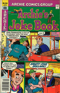 Cover Thumbnail for Archie's Joke Book Magazine (Archie, 1953 series) #255