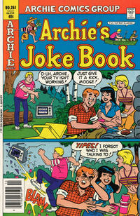 Cover Thumbnail for Archie's Joke Book Magazine (Archie, 1953 series) #261