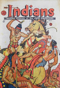 Cover Thumbnail for Indians (H. John Edwards, 1950 ? series) #24