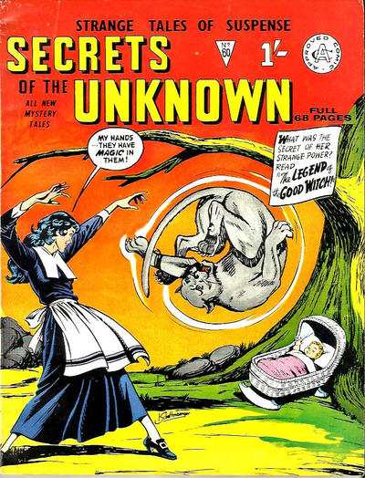 Cover for Secrets of the Unknown (Alan Class, 1962 series) #60