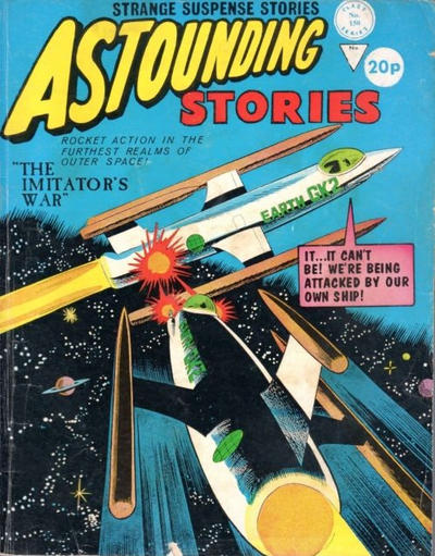 Cover for Astounding Stories (Alan Class, 1966 series) #150