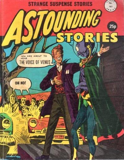 Cover for Astounding Stories (Alan Class, 1966 series) #167