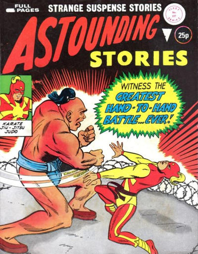 Cover for Astounding Stories (Alan Class, 1966 series) #157