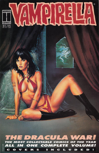 Cover for Vampirella the Dracula War (Harris Comics, 1993 series)  [First Printing]
