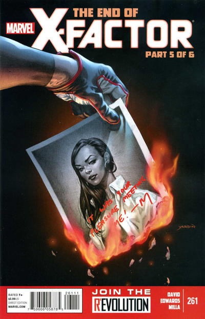Cover for X-Factor (Marvel, 2006 series) #261