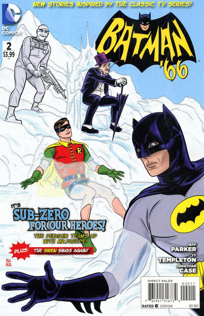 Cover for Batman '66 (DC, 2013 series) #2 [Michael Allred Cover]