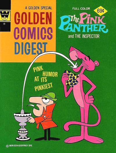 Cover for Golden Comics Digest (Western, 1969 series) #45