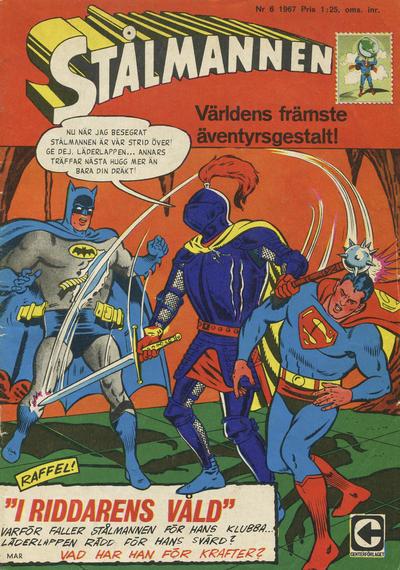 Cover for Stålmannen (Centerförlaget, 1949 series) #6/1967