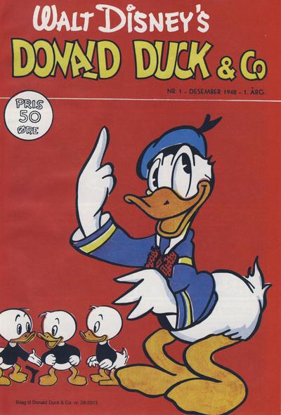 Cover for Bilag til Donald Duck & Co (Hjemmet / Egmont, 1997 series) #29/2013