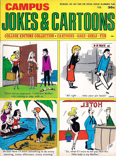 Cover for Campus Jokes & Cartoons (Marvel, 1967 series) #v1#2