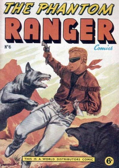 Cover for The Phantom Ranger (World Distributors, 1955 series) #6