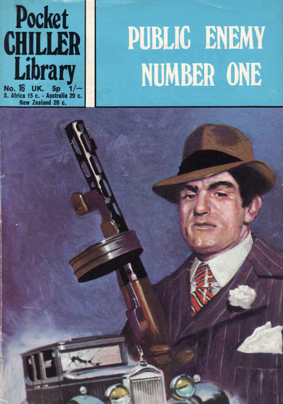 Cover for Pocket Chiller Library (Thorpe & Porter, 1971 series) #16