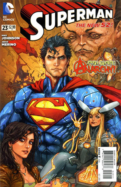 Cover for Superman (DC, 2011 series) #23 [Direct Sales]