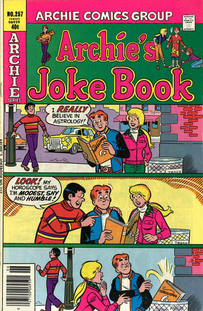 Cover for Archie's Joke Book Magazine (Archie, 1953 series) #257