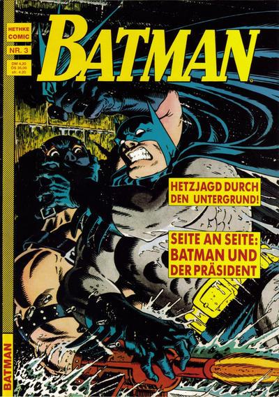 Cover for Batman (Norbert Hethke Verlag, 1989 series) #3