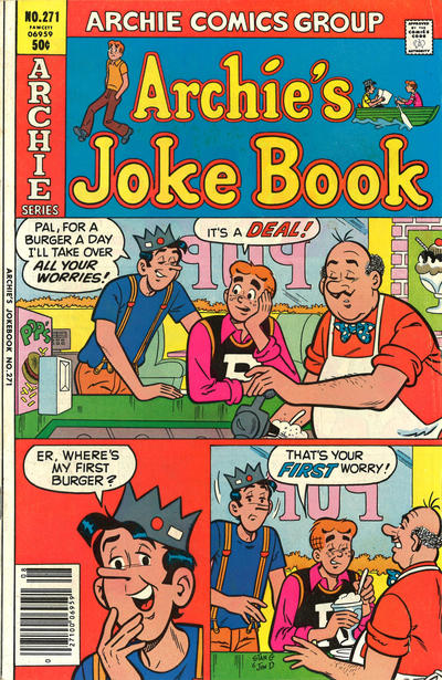 Cover for Archie's Joke Book Magazine (Archie, 1953 series) #271