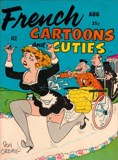 Cover for French Cartoons and Cuties (Candar, 1956 series) #9