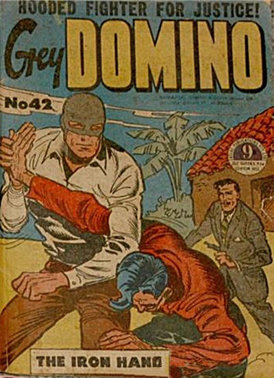 Cover for Grey Domino (Atlas, 1950 ? series) #42