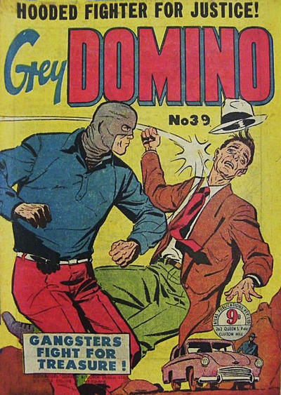 Cover for Grey Domino (Atlas, 1950 ? series) #39
