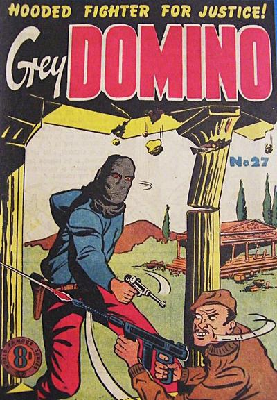 Cover for Grey Domino (Atlas, 1950 ? series) #27